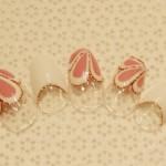 【逆フレンチ+お花フレンチ+ラメライン+ホロ】 8,420円